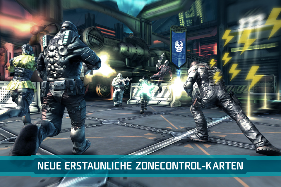 SHADOWGUN: DeadZone iPhone, iPad Screenshot