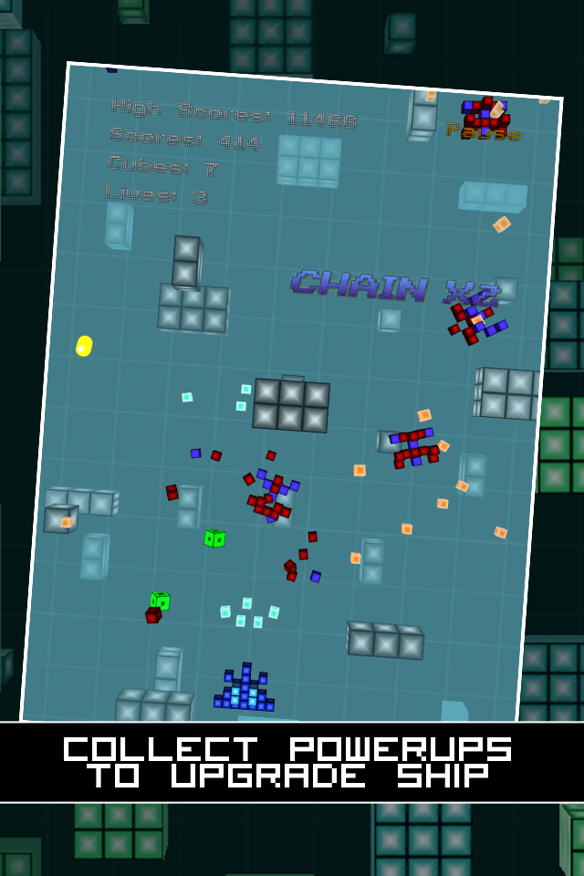 Screenshot Block Invader Lite